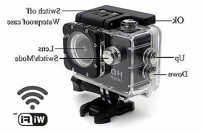 new wifi wireless waterproof sports dv 1080p