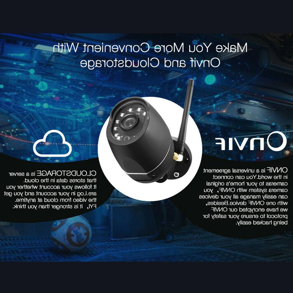 Digoo ONVIF IR IP Cloud Waterproof Security