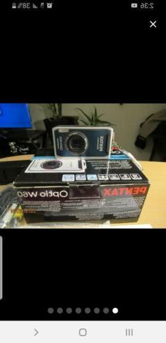 Pentax Optio W60 Camera Package New > Waterproof 10MP