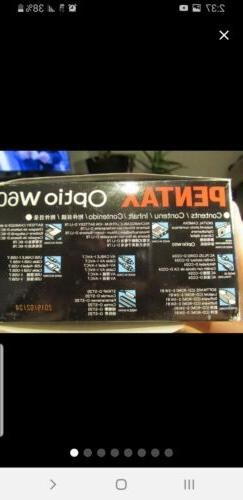 optio w60 camera package in box new