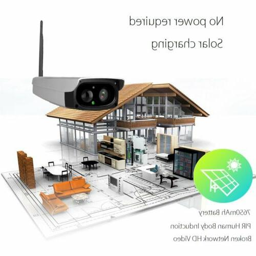 Outdoor Powered WIFI Security HD