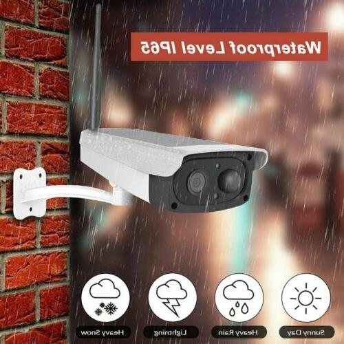 Outdoor Solar Powered WIFI Camera 1080P HD