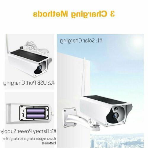 Solar WiFi IP Camera Waterproof