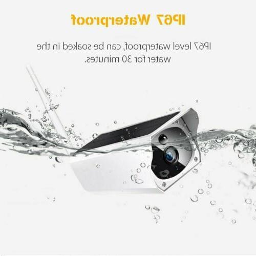 Outdoor Solar Wireless 1080P Camera Waterproof