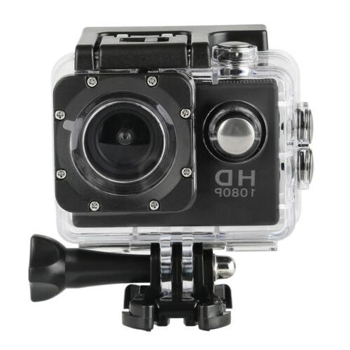 outdoor sports camera 1080p 2inch lcd waterproof