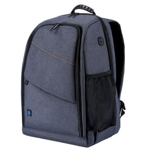 PULUZ Outdoor Scratch-proof Dual Backpack Camera Bag