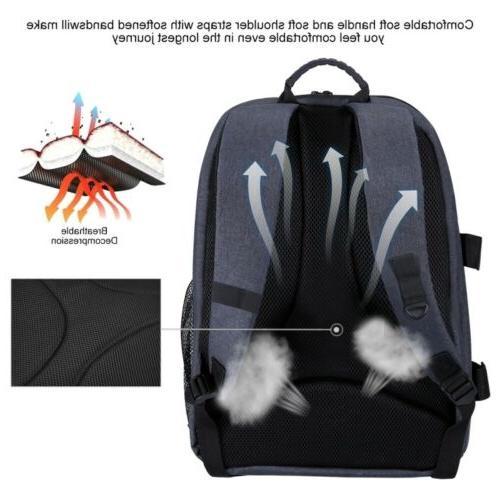 PULUZ Outdoor Waterproof Scratch-proof Dual Bag
