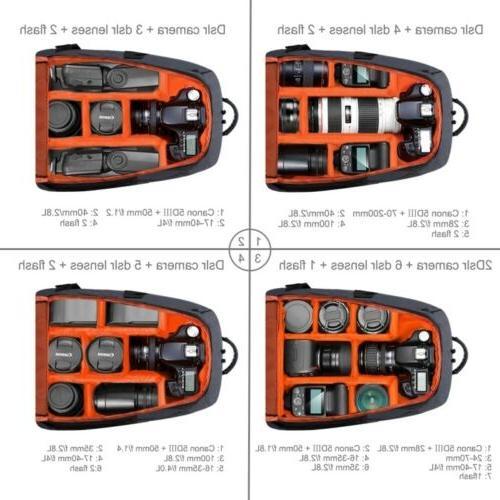 PULUZ Outdoor Waterproof Dual Bag