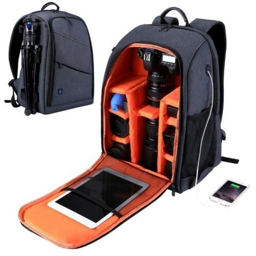 outdoor waterproof scratch proof dual shoulders backpack