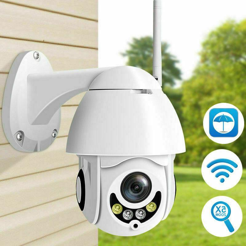 Outdoor Pan 1080P Security IP IR Night