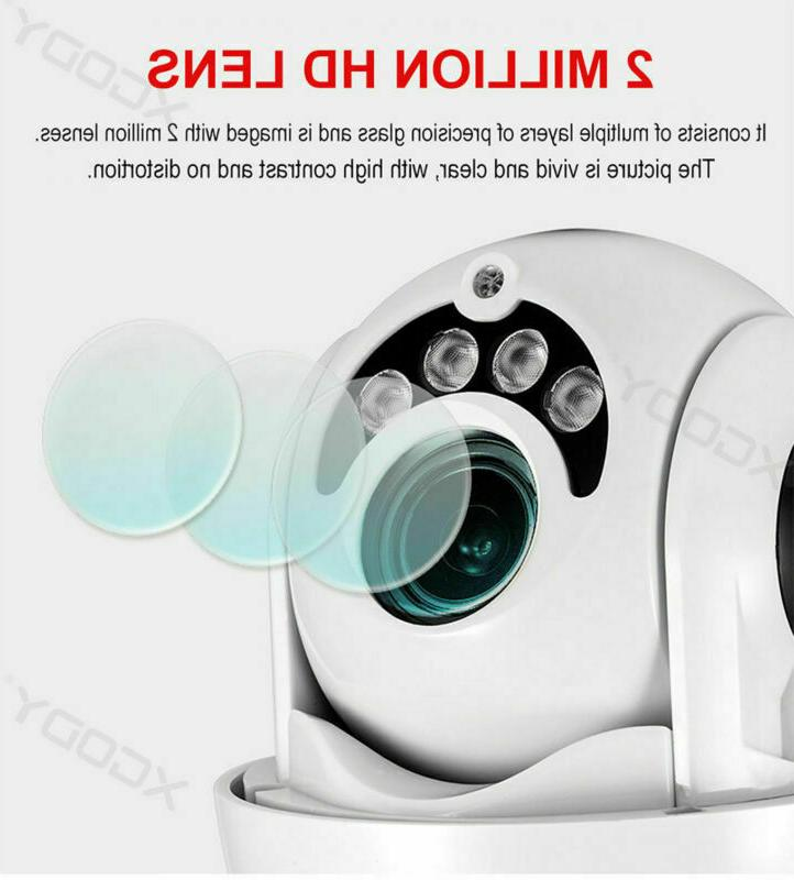Outdoor WiFi PTZ Pan 1080P Security IP IR Night Vision