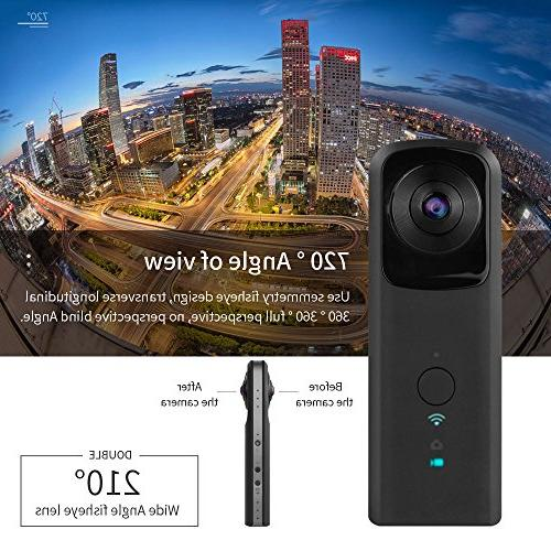 YUNTAB 360-Degree WiFi 2.0The Aperture Video Ultra Fisheye
