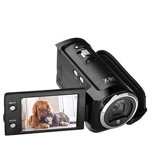 KINGEAR PL009 720P 16MP Digital Video Camcorder Camera DV DV