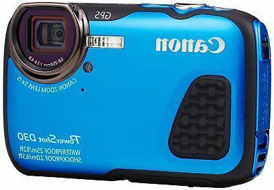 Canon Powershot D30 Digital Cameras - Blue