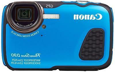 Canon Powershot D30 Cameras - Blue