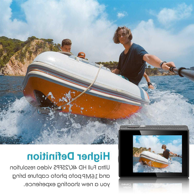 Pro 4K WiFi Camcorder Camera Waterproof