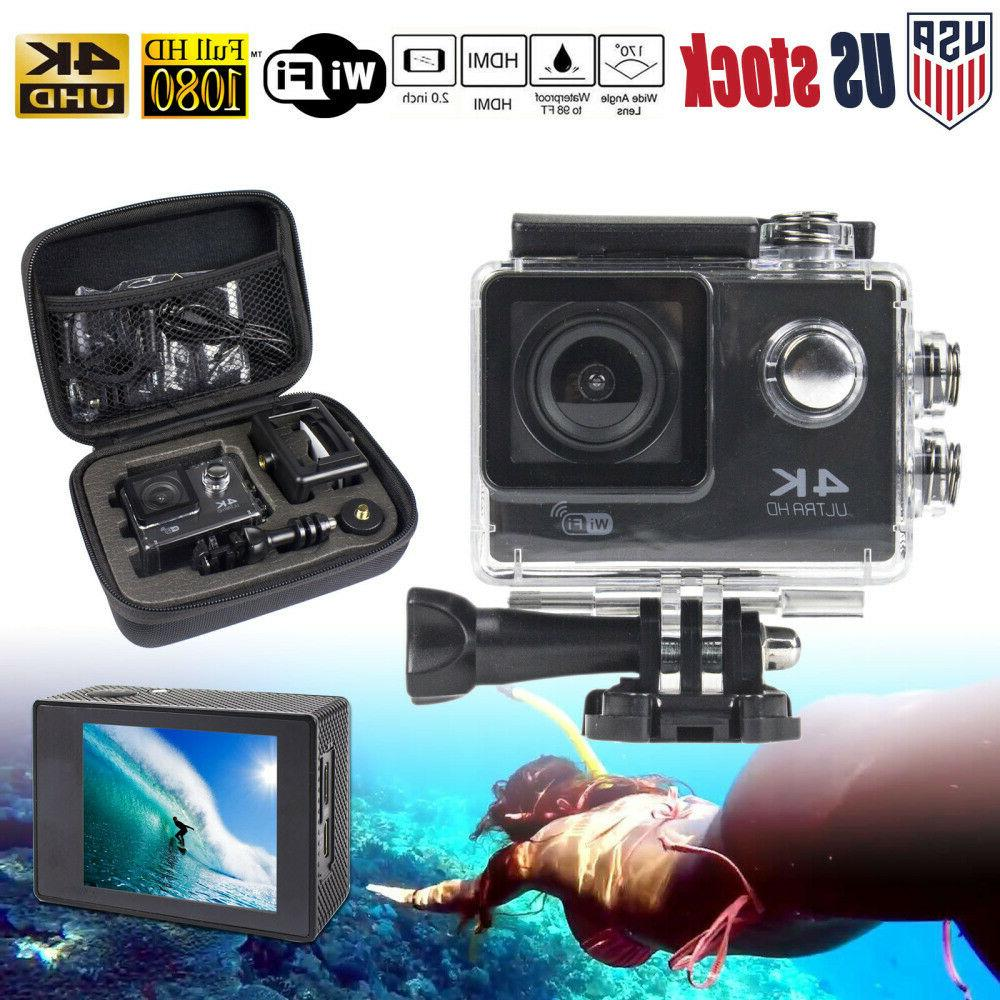 pro 4k action camera wifi camcorder ultra