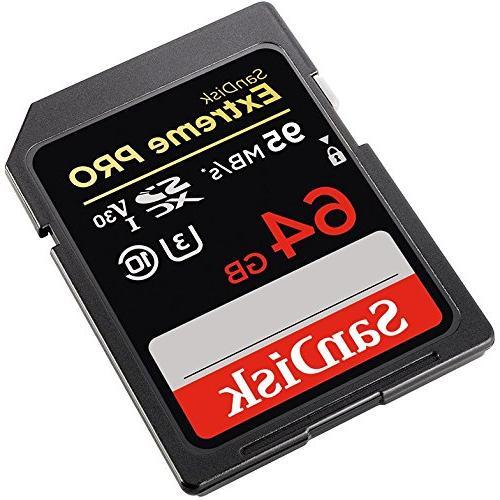 SanDisk Extreme Pro SDXC Memory Card