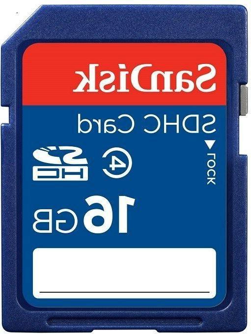 SanDisk SDHC Class 4 C4 Camera **Retail