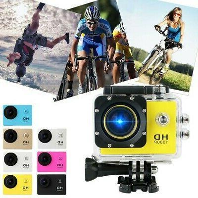 1080P Ultra HD Sport Action Camera DVR DV Helmet Cam Video C