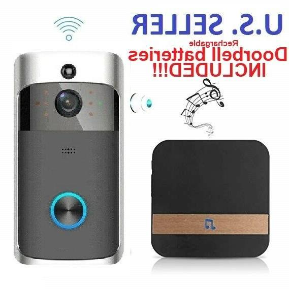 smart home waterproof battery chime wifi wireless