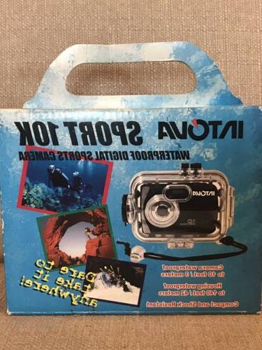 sports waterproof 10k digital camera