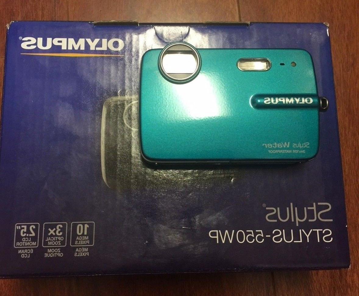 stylus 550wp 10 0mp waterproof digital camera