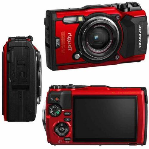 Olympus Stylus Tough Waterproof Digital Camera With Kit