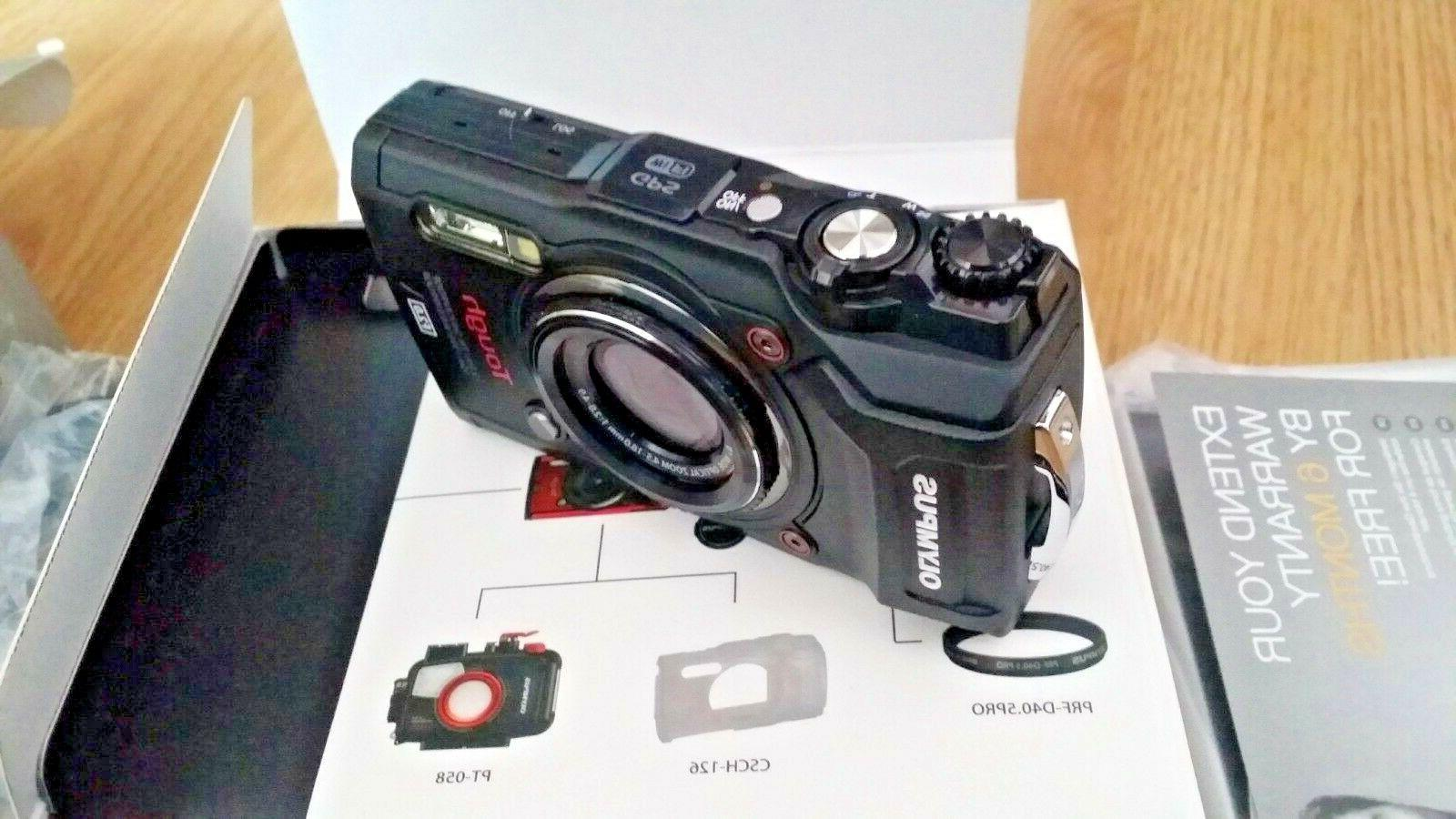Olympus with 3-Inch LCD Black NEW