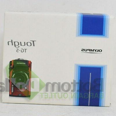 Olympus Tough IM005 Waterproof Shockproof Camera 4x Zoom