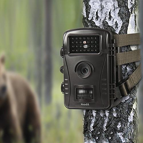 "Trail Camera, Game And Wildlife With Digital 2.4"" LCD 50 Distance, Black"