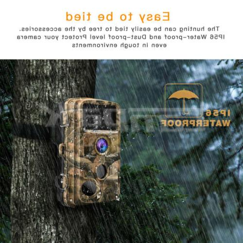 Campark Trail 16M 1080P Game Hunting Scouting Cam Night