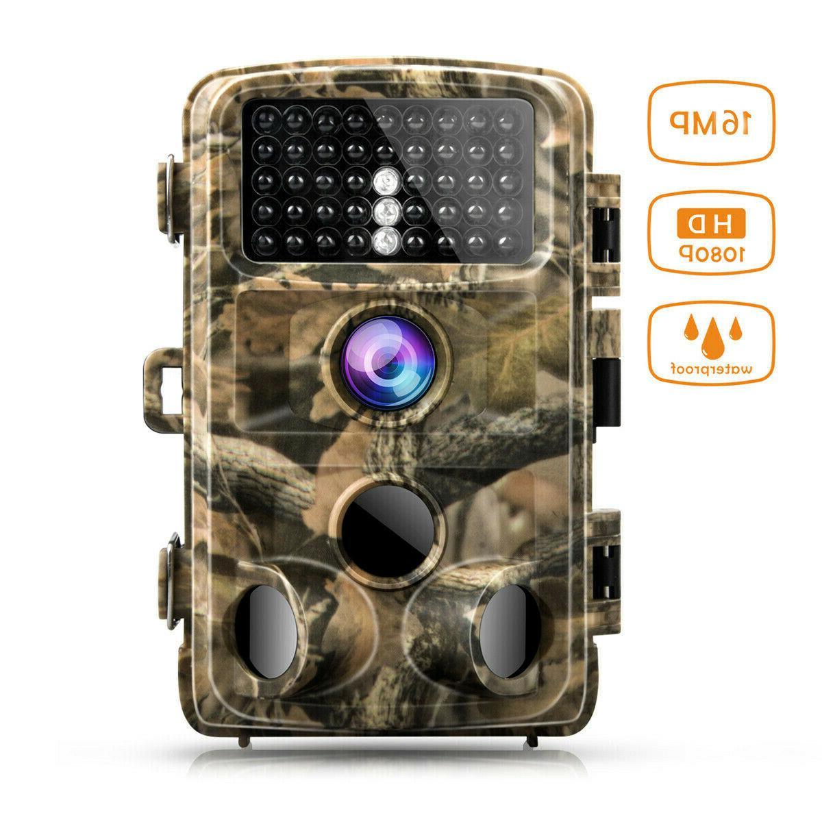 trail hunting camera 14mp fhd 1080p waterproof