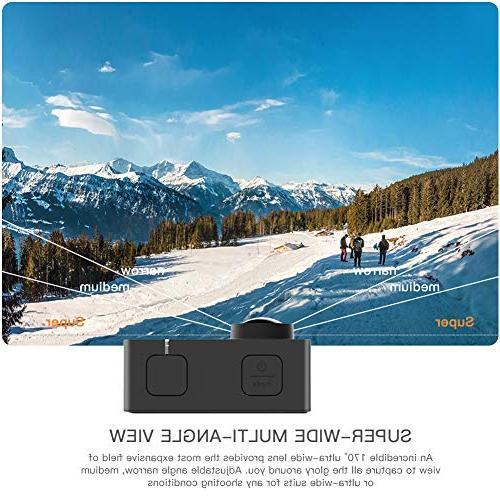 APEMAN Trawo Action 4K 20MP Camcorder with 170 Ultra-Wide Advanced Sensor EIS mAh