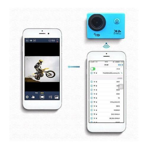 Ultra Full HD 1080P Sport Camera WiFi Action Camcorder Go