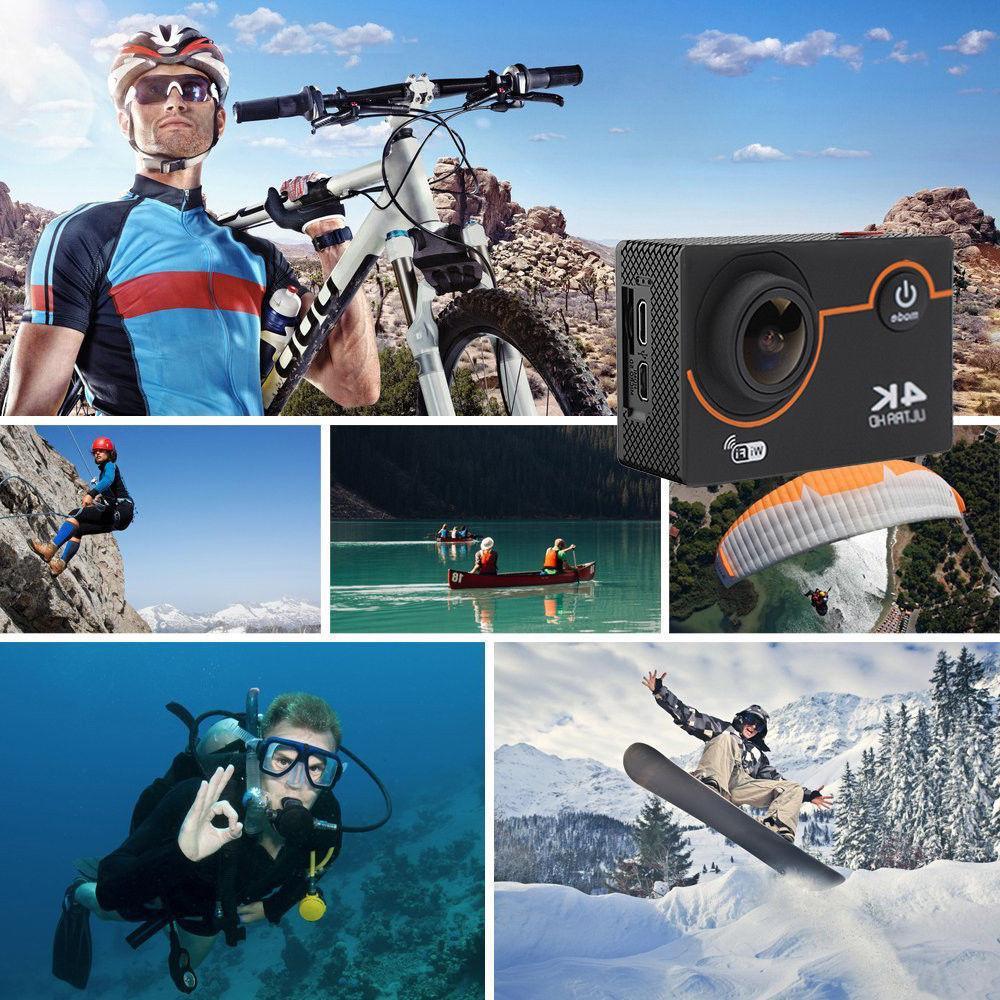 Ultra Waterproof Sport DV WiFi &Accessories
