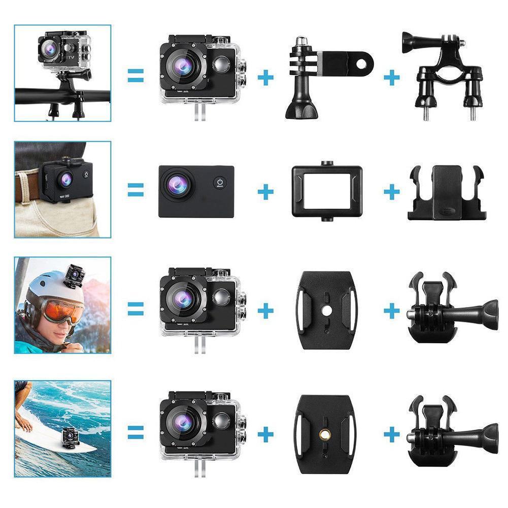 DV WiFi Action Camera &Accessories pro