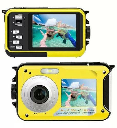 underwater camera 24 0mp waterproof digital camera