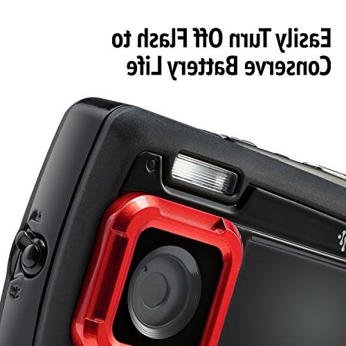 Ivation Shockproof Digital Camera Video LCD Displays – Submersible Up to Feet