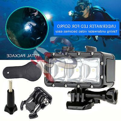 Underwater Waterproof Diving Spot Light LED Mount for GoPro