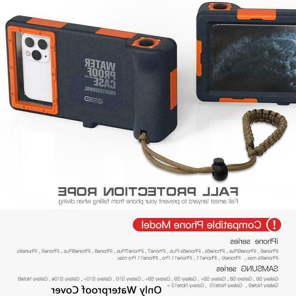 universal phone waterproof case underwater diving camera
