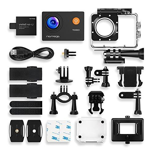 APEMAN Camera Full Waterproof Camera 30m Angle and Kits