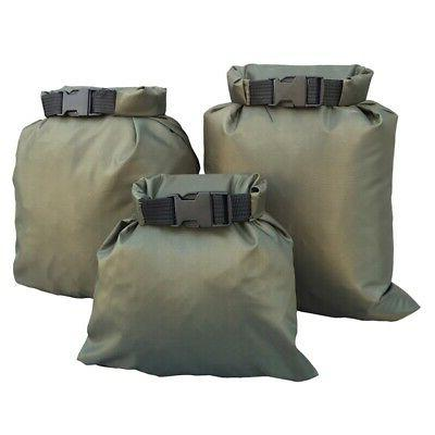 US 3Pcs Outdoor Waterproof Dry Bag Camera Mobile Set