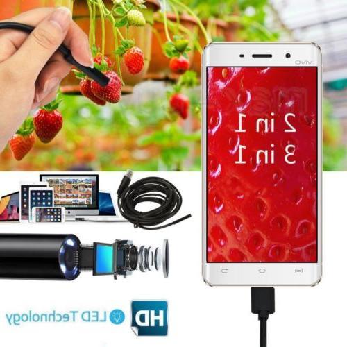 usb endoscope borescope waterproof snake camera 6