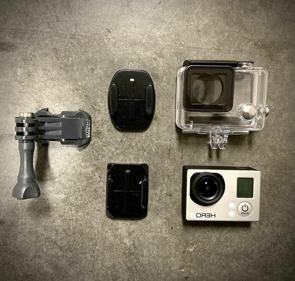 Used GoPro HERO White 1080P HD Camera waterproof Case