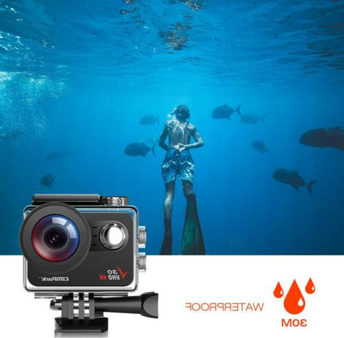 Action Camera Campark 20MP FHD Touch Sport Cam Camcorder