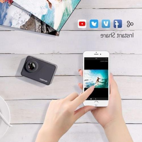 AKASO V50 PRO 20MP Camera Action Camcorder Remote