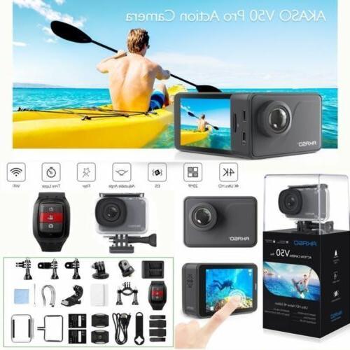 v50 pro waterproof 20mp camera wifi 4k