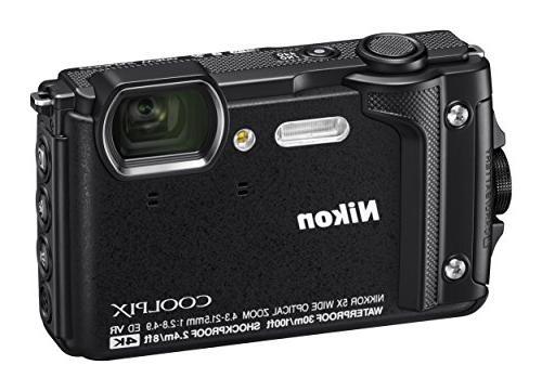 """Nikon W300 Waterproof Underwater Digital LCD, 3"""","""