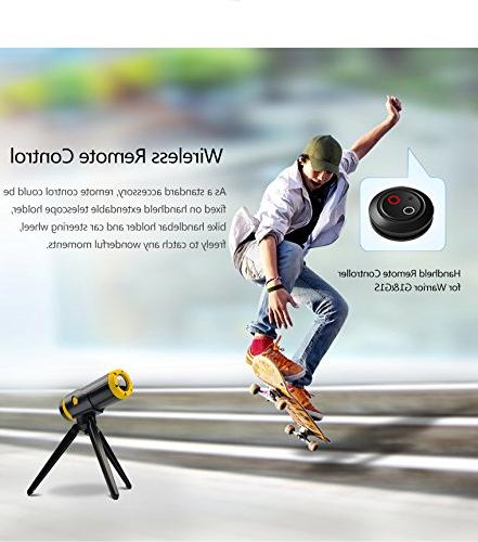 Yuntab Warrior G1 Action H.265 Wi-Fi 3400mAh Wide Camcorder Standby Remote Control